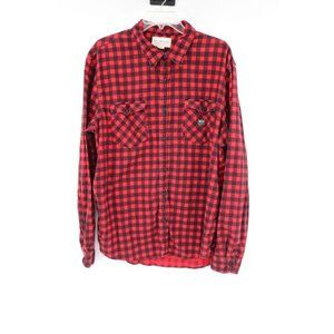 denim supply ralph lauren men's XXL shirt flannel